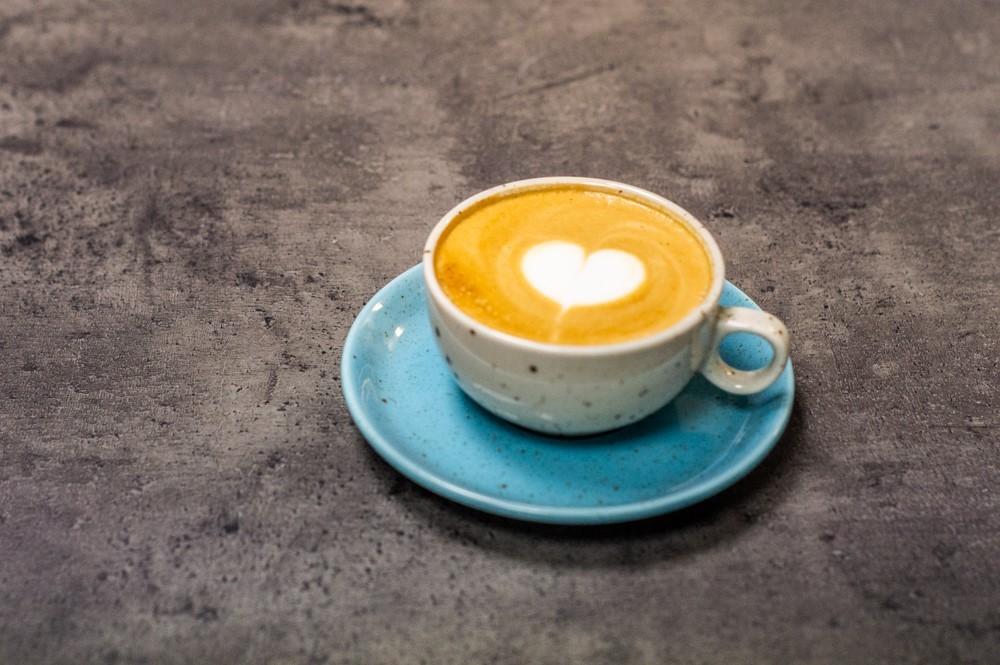 Káva s mlékem jako cappuccino