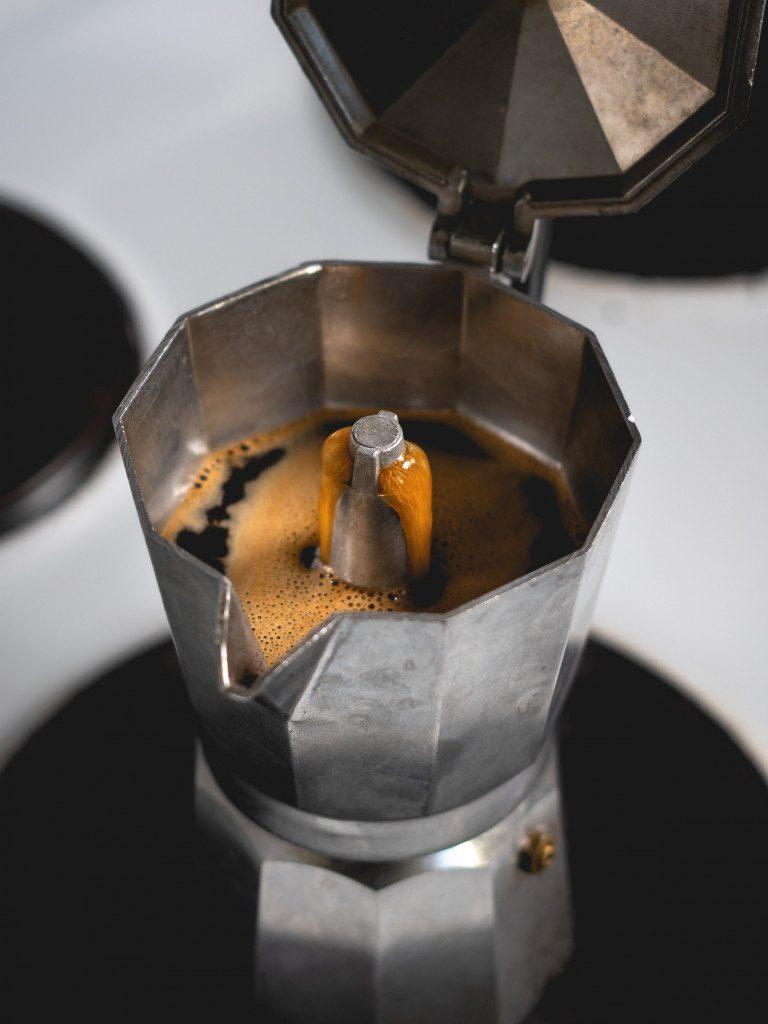 Moka konvička - alternativní příprava kávy