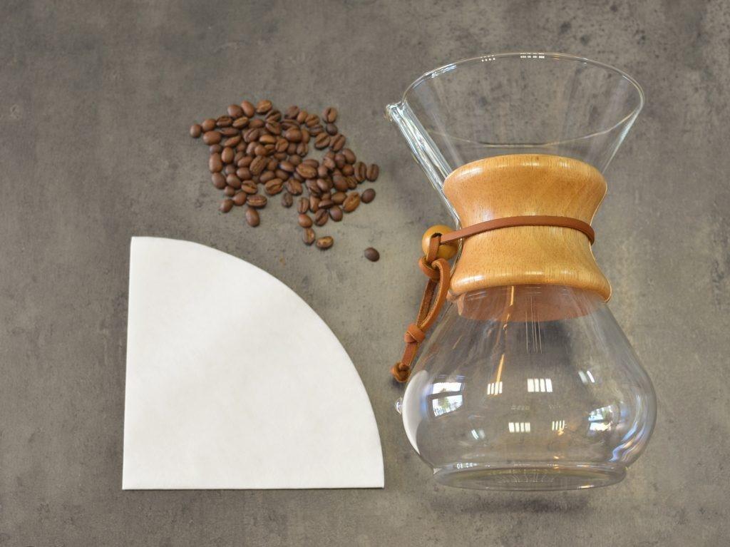 Alternativní příprava kávy metodou Chemex