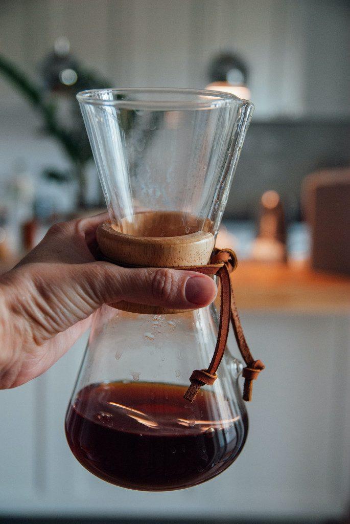 Chemex - alternativní metoda přípravy kávy