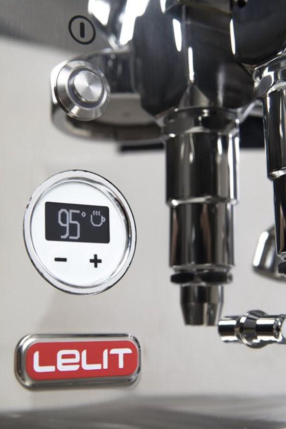 Elektronický systém PID. S nastavením teploty vody máte větší možnosti při přípravě perfektního espressa.