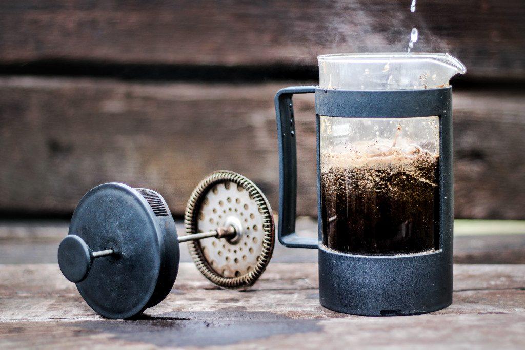 French Press - alternativní příprava kávy