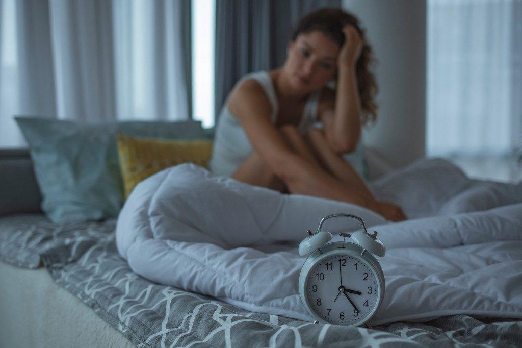 Problémy se spaním