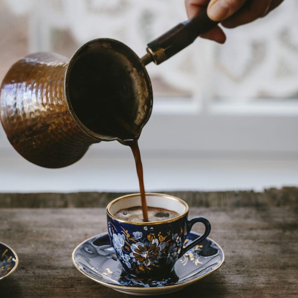 Džezva - alternativní příprava kávy