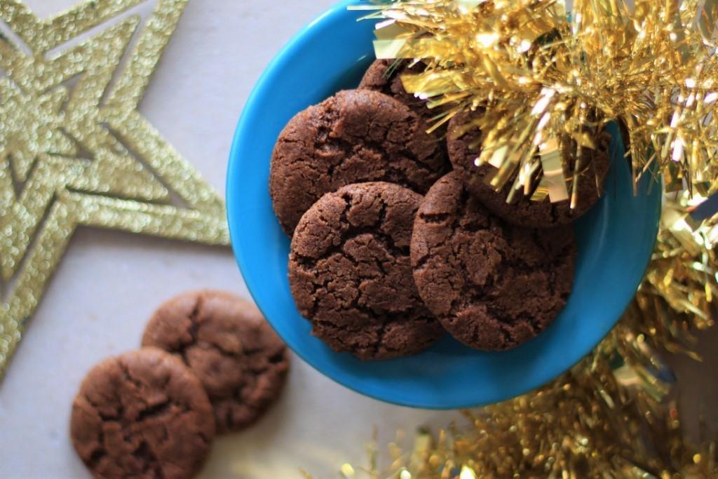 Recept na domácí čokoládovo - kávové cookies