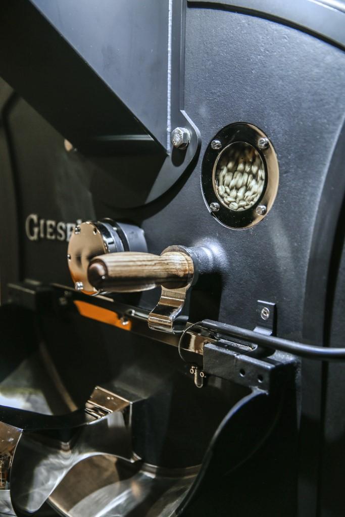 proces pražení kávy