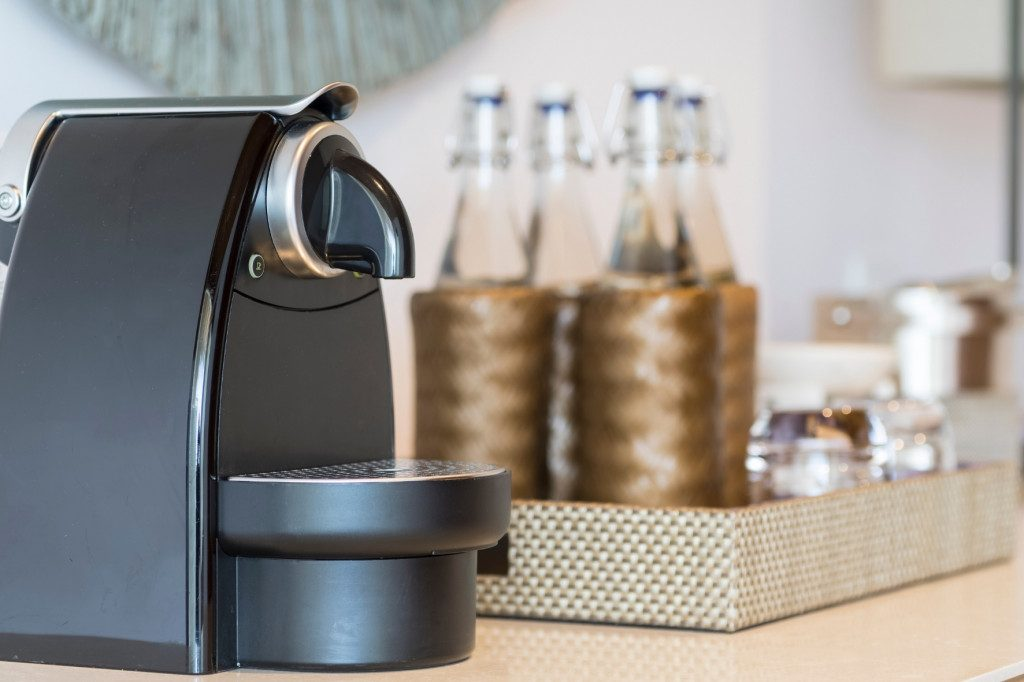 Domácí kapslový kávovar