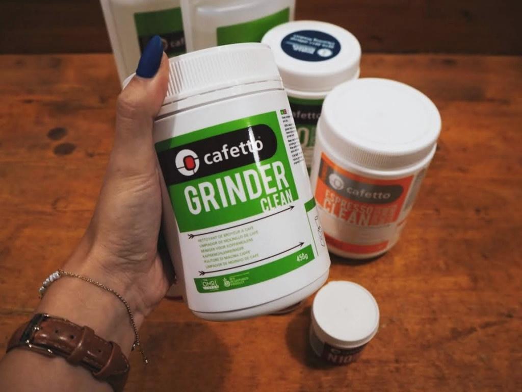 čistící tablety na mlýnek na kávu Cafetto Grinder Clean