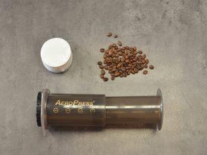 Tipy pro lepší přípravu kávy v AeroPressu