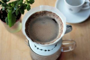Proces extrace kávy